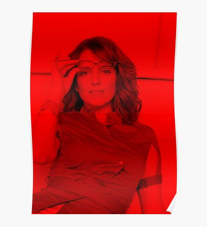 Tina Fey - Celebrity Poster