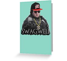 Swagwell Tarly (Samwell Tarly) game of thrones Sam Greeting Card