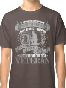 Veteran - Forever The Title Classic T-Shirt