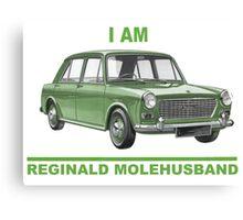 I am Reginald Molehusband Canvas Print