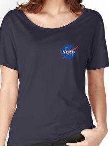 Nerd Logo Women's Relaxed Fit T-Shirt