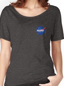 Nerd Logo Women's Relaxed Fit T-Shirt