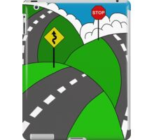 Hit the road iPad Case/Skin