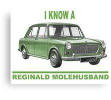 I know a Reginald Molehusband Canvas Print