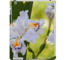 blue orchid iPad Case/Skin