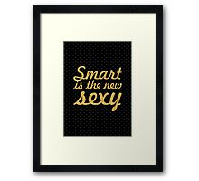 Smart... Inspirational Quote Framed Print