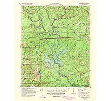 USGS TOPO Map Arkansas AR Felsenthal 260068 1939 62500 Photographic Print