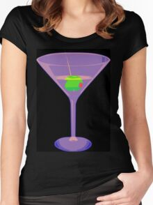 Shaken Not Stirred Women's Fitted Scoop T-Shirt