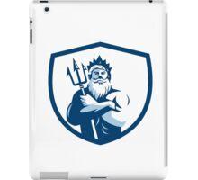 Triton Trident Arms Crossed Crest Retro iPad Case/Skin
