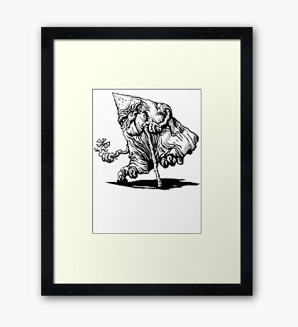 AnciENT the Tee Framed Print