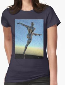 Danza del Cosmos Womens Fitted T-Shirt
