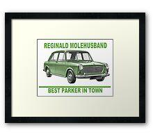 Reginald Molehusband - Best Parker in Town Framed Print