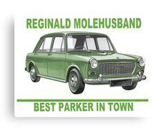 Reginald Molehusband - Best Parker in Town Canvas Print