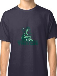 Triton Arms Crossed Trident Front Retro Classic T-Shirt