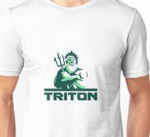Triton Arms Crossed Trident Front Retro Unisex T-Shirt