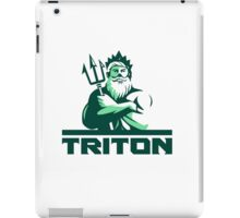 Triton Arms Crossed Trident Front Retro iPad Case/Skin