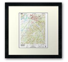 USGS TOPO Map Arkansas AR Malvern South 259001 2000 24000 Framed Print