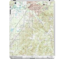 USGS TOPO Map Arkansas AR Malvern South 259001 2000 24000 iPad Case/Skin