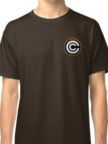 Dragon Ball Z Capsule Corp Symbol Design (orange) Classic T-Shirt