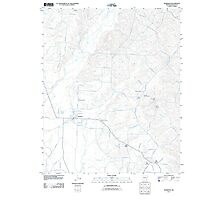 USGS TOPO Map Arkansas AR Sparkman 20110711 TM Photographic Print