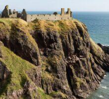Dunnottar Castle Scotland Postcard Sticker