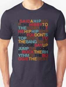 sugarhill - rappers delight Unisex T-Shirt