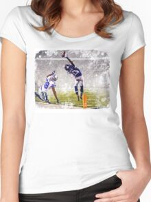OBJ Women's Fitted Scoop T-Shirt