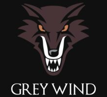 Direwolf Grey Wind by sher00