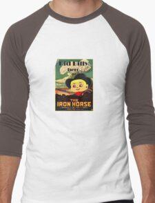 Kid Billy Cowboy movie poster tee Men's Baseball ¾ T-Shirt