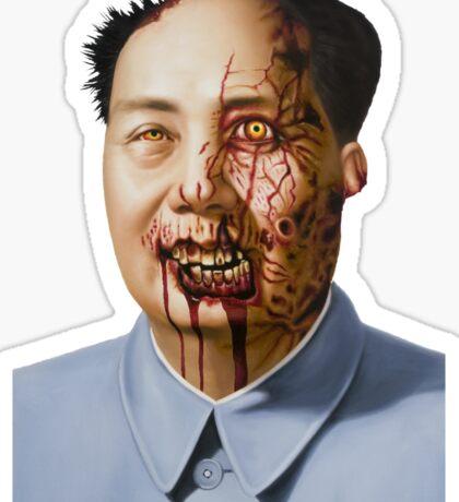 Zombie Mao Sticker