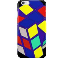 Rubik's Cube Pop Art iPhone Case/Skin