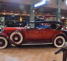 "1929  Packard  Model ""645"" Dual Cowl Phaeton by BearheartFoto"