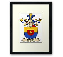 Grimm Coat of Arms (Austrian) Framed Print
