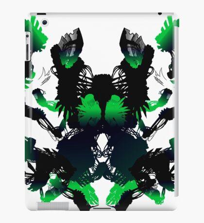 Rorschach Green iPad Case/Skin