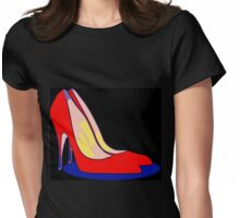 All You Need is Red Pumps Womens Fitted T-Shirt