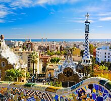 Colorful Barcelona by Michael Abid