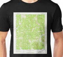 USGS TOPO Map Arkansas AR Osage SW 259321 1968 24000 Unisex T-Shirt