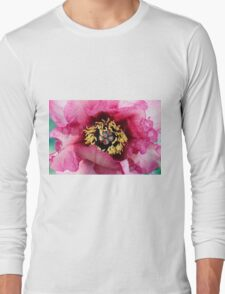 peony in spring Long Sleeve T-Shirt