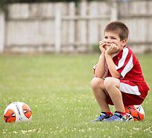 Soccer Break by Tracy Friesen