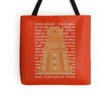 Exterminate Orange Tote Bag