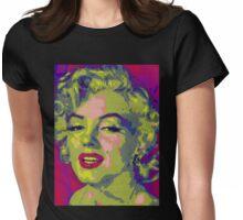 Queen of Pop Art Womens Fitted T-Shirt