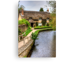 The Thatched Cottage Canvas Print