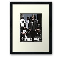 Hardcore rap Framed Print