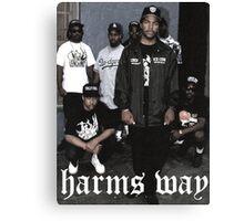 Hardcore rap Canvas Print