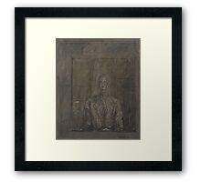 Alberto Giacometti - Portrait of Peter Watson Framed Print