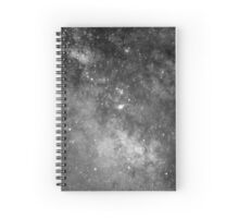 Dark Galaxy Spiral Notebook