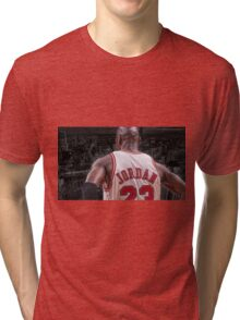Michael Jordan - Protect MY City Tri-blend T-Shirt
