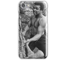Muhammad Ali - BEEN CHOPPIN' TREES iPhone Case/Skin