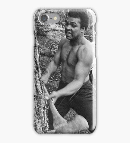 Muhammad Ali - BEEN CHOPPIN' TREES iPhone Case/Skin