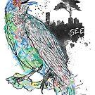 Rainbow Raven- SEE by Liviu Matei
